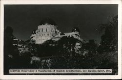 Griffith Observatory & Planetarium, of Spanish Architecture