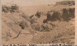 Head of the Ravine Above Chinaman's Waterhole