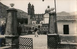 Parque Guerrero and Santa Prisca Church Postcard