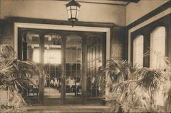 Vestibule to Main Dining Room of the Sanatorium of The Christian Science Benevolent Association Postcard