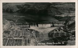 Air View, Grand Couler Dam