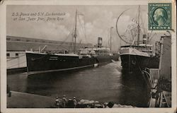 S.S. Ponce and S.V. Luckemback at San Juan Peir