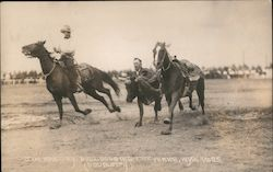Jim Massey Bulldogging 1925
