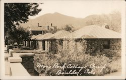 Moss Rock Cottage Camp Postcard