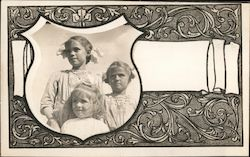 Portrait of Three Girls