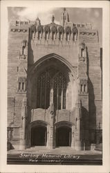 Sterling Memorial Library, Yale University Postcard