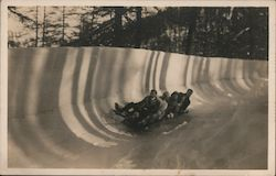 Bobsled Run Postcard