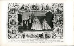 General Tom Thumb's Marriage at Grace Church Postcard