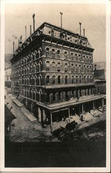 International Hotel - Burned in 1915