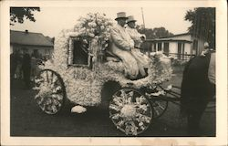 Carriage Decorated in Flowers