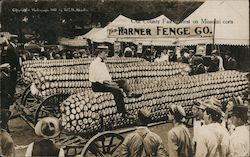 Our County Fair Contest on Missouri Corn Postcard