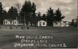 Pine Grove Cabins Otsego Lake, Route 2
