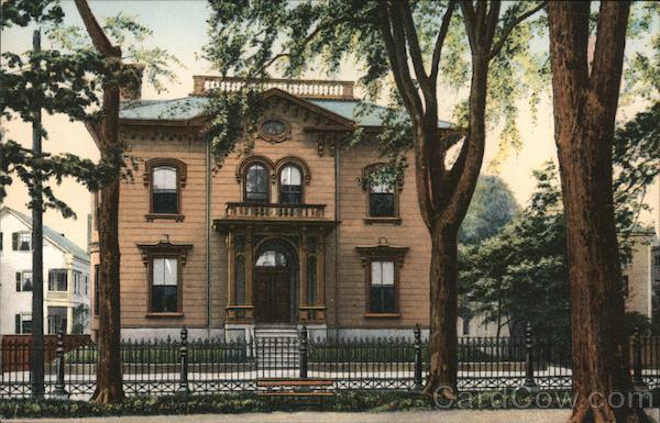 Now and Then Club House, Washington Square Salem Massachusetts