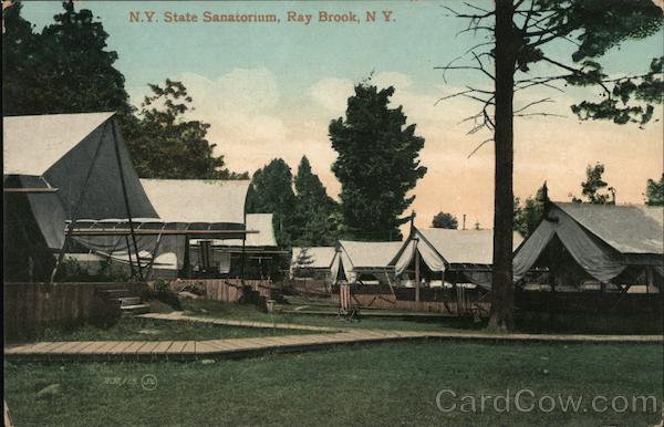N.Y. State Sanatorium Ray Brook New York