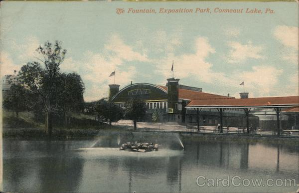 The Fountain, Exposition Park Conneaut Lake Pennsylvania