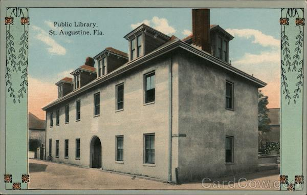 Public Library St. Augustine Florida