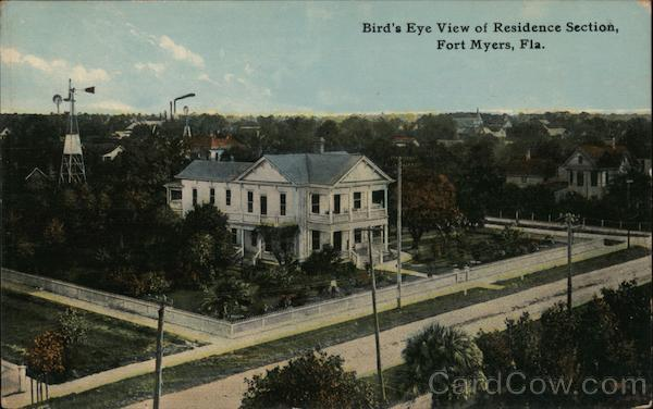 Bird's Eye View of Residence Section Fort Myers Florida