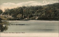 Luther Park Postcard