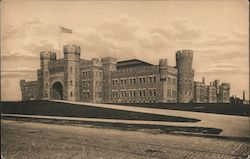 65th Regt. Armory Postcard