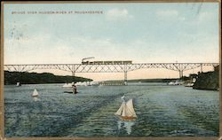 Bridge Over Hudson River at