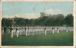 Full Dress Parade Inspection Postcard