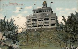 Mt. Totn. Summit House, South Side Postcard