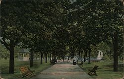 Lawrence Common Postcard