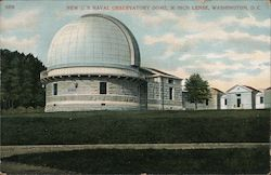 New U.S. Naval Observatory Dome, 36 Inch Lense