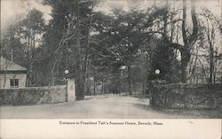 Entrance to President Taft's Summer Home