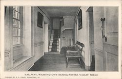 Hallway, Washington's Headquarters Postcard