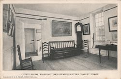 Office Room. Washington's Headquarters Postcard