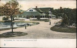 Walk and Casino-Lakemont Park Postcard