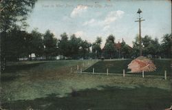 View in West Park Postcard