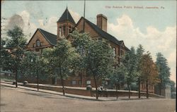 Clay Avenue Public School Postcard