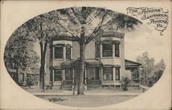 The Athens Sanitarium Postcard