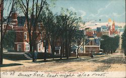 West Pittsburg Street Postcard