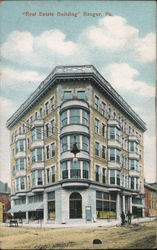 """Real Estate Building"" Postcard"