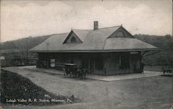 Lehigh Valley R. R. Station Postcard