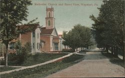 Methodist Church and Street View