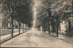 Lincoln Avenue Postcard