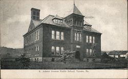 Adams Avenue Public School Postcard