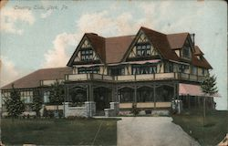 Country Club Postcard