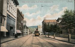 Main Street, Looking South East Postcard