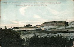 Fort Burvoucas, Old Fort San Carlos in the Foreground, Built in 1697 By the Spanish