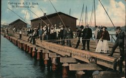 Fishing on A.C.L. Dock