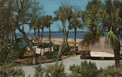 The Campers Area at Fort DeSoto Park has the Most Modern Facilities for the Tent Camping Enthusiast