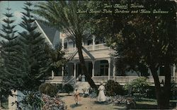 Hotel Royal Palm Gardens and Main Entrance Postcard