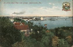 St. John's River View with Bridge