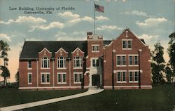 Law Building, University of Florida Postcard