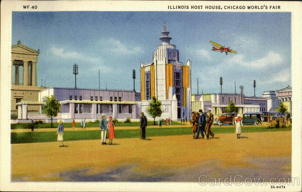 Illinois Host House 1933 Chicago World Fair